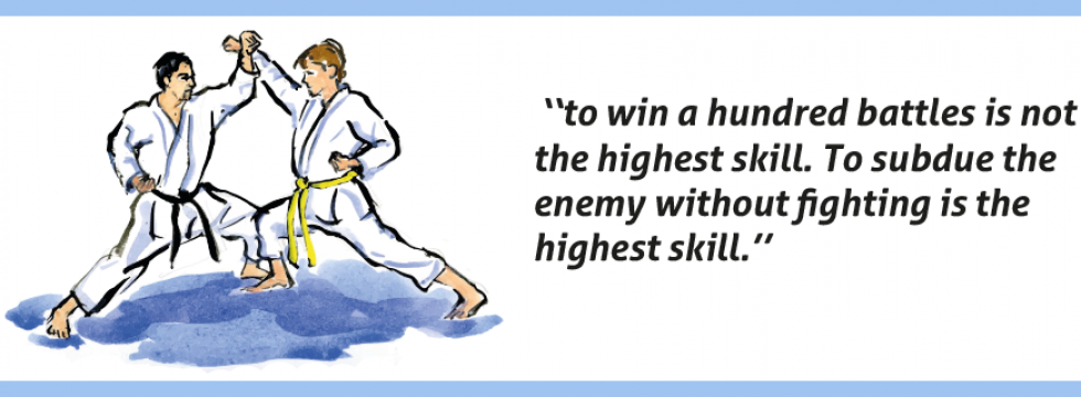 The 20 Precepts of Gichin Funakoshi